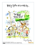 Best Year Yet! Poster by Peter H. Reynolds