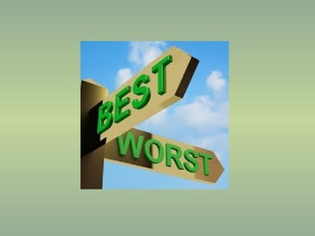 Best and Worst Questions (Superlative) - chat class