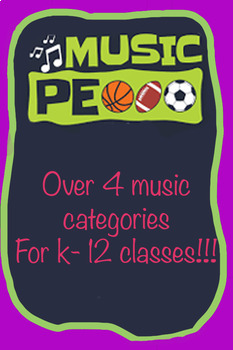 Best list songs for Physical Education Classes