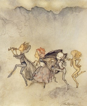 Best of Arthur Rackham - 50 fab images to use for anything you like!