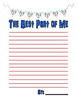 Best of Me Writing Poster