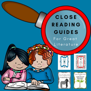 Best selling close reading guides