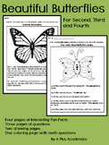 Beautiful Butterflies - Fun Facts - For Second - Third - Fourth