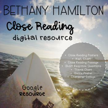 Bethany Hamilton Digital Close Read