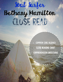 Bethany Hamilton Soul Surfer Close Reading