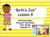 Beth's Job Storytown Lesson 8