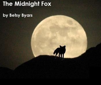 Betsy Byars' Midnight Fox Book Study