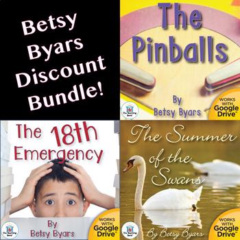 Betsy Byars Novel Study Unit Bundle