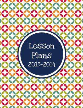 Betsy Editable Lesson Plans