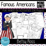Betsy Ross- NO PREP Mini Unit {Famous Americans}