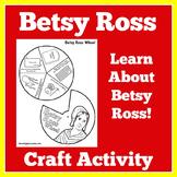 Betsy Ross Craft | Betsy Ross Activity | American Flag Craft