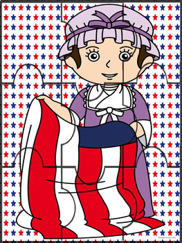 Betsy Ross Social Studies U.S. History Lesson Reading Plan Literacy Worksheets