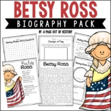 Betsy Ross Biography Pack (Revolutionary Americans)
