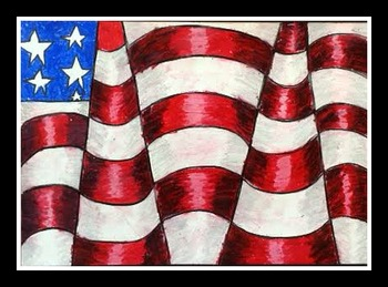 Betsy Ross Colonial Flag PowerPoint Cross-Curricular Project