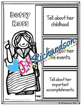 Betsy Ross Writing
