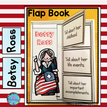 Betsy Ross(Interactive Writing Printable and Fast Facts)