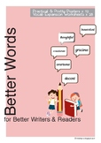 Better Adjectives Posters & Worksheets_Common Core Aligned