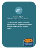 "Better Analysis and Writing: ""Whying It"" Out Bundle"