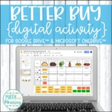 Better Buy Taco Tuesday DIGITAL Activity for Google Drive™ - Unit Rates