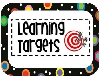 I Can Targets- Better Chinese Learning Targets