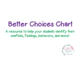 Better Choices Chart