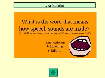 Better Hearing Speech Month Game Show game