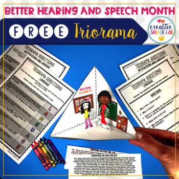 Better Hearing and Speech Month: FREE Triorama