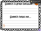 Better Hearing and Speech Month FREEBIE