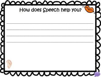 Better Hearing and Speech Month FREEBIE
