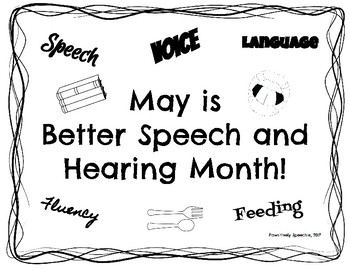 Better Speech and Hearing Month (BSHM) Staff Education Packet