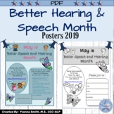 Better Speech and Hearing Month Posters/Flyers