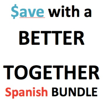 Better Together Bundle of 4 Spanish products