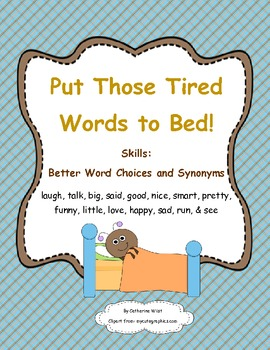 Better Word Choices- {Retire Words}- Put Those Tired Words