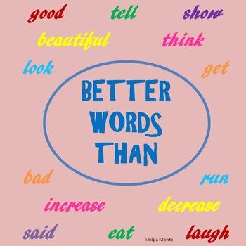 Better Words Than