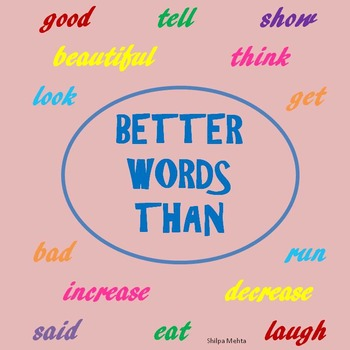 Better Words Than