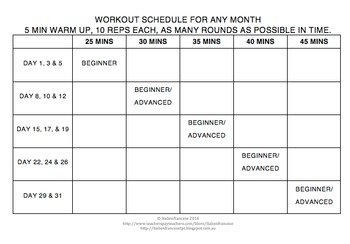 FREEBIE Better than yesterday anywhere workouts & planner