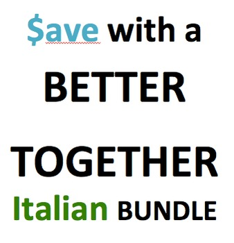 Better together bundle 11 products in Italian with download updates for life