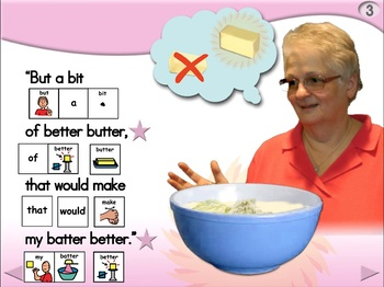 Betty Botter - Animated Step-by-Step Poem - PCS