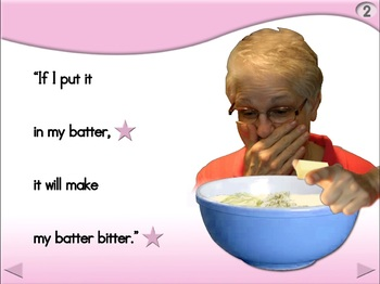 Betty Botter - Animated Step-by-Step Poem - Regular