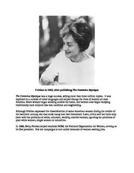 Betty Friedan - A Short Biography for Kids