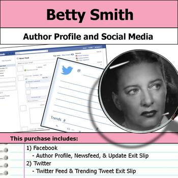 Betty Smith - Author Study - Profile and Social Media