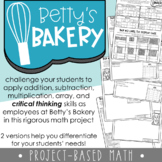 Betty's Bakery Math Extension Project