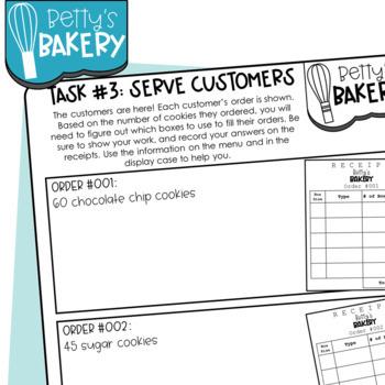 Betty's Bakery Math Project