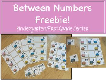 Between Numbers Freebie!