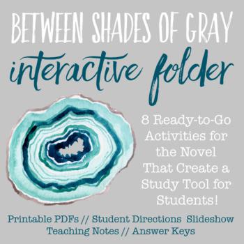 Between Shades of Gray Interactive Folder