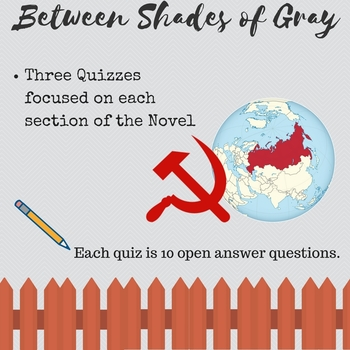 Between Shades of Gray Quizzes
