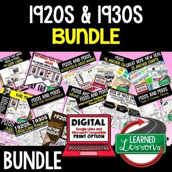 Between Two Fires 1920s 1930s BUNDLE (World History Bundle)