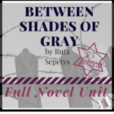 Between the Shades by Ruta Sepetys Full Novel Unit