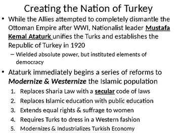 Between the Wars: The Modernization of Turkey