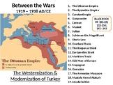 Between the Wars LESSON BUNDLE: The Modernization of Turkey